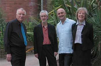 ART WOLF: mike westbrook, chris biscoe, pete whyman,  kate westbrook (photo: frank eichler)