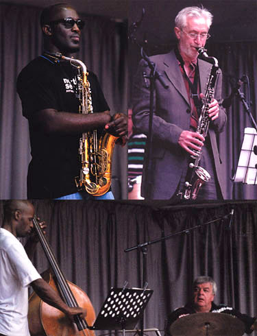 Chris Biscoe Profiles Quartet - Tony Kofi, Chris Biscoe, Larry Bartley, Stu Butterfield